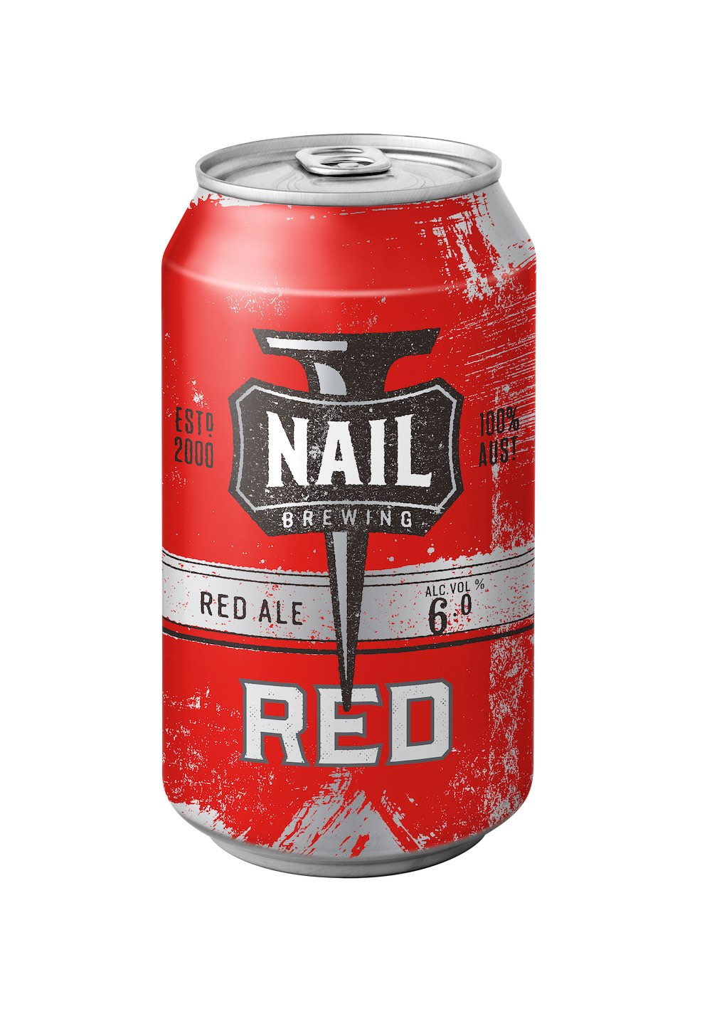 Nail Brewing Red Ale Can